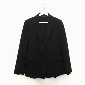 RELAXED FIT TWO BUTTONS BLAZER